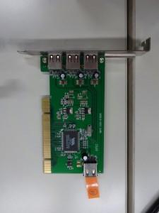 USBのホストカード